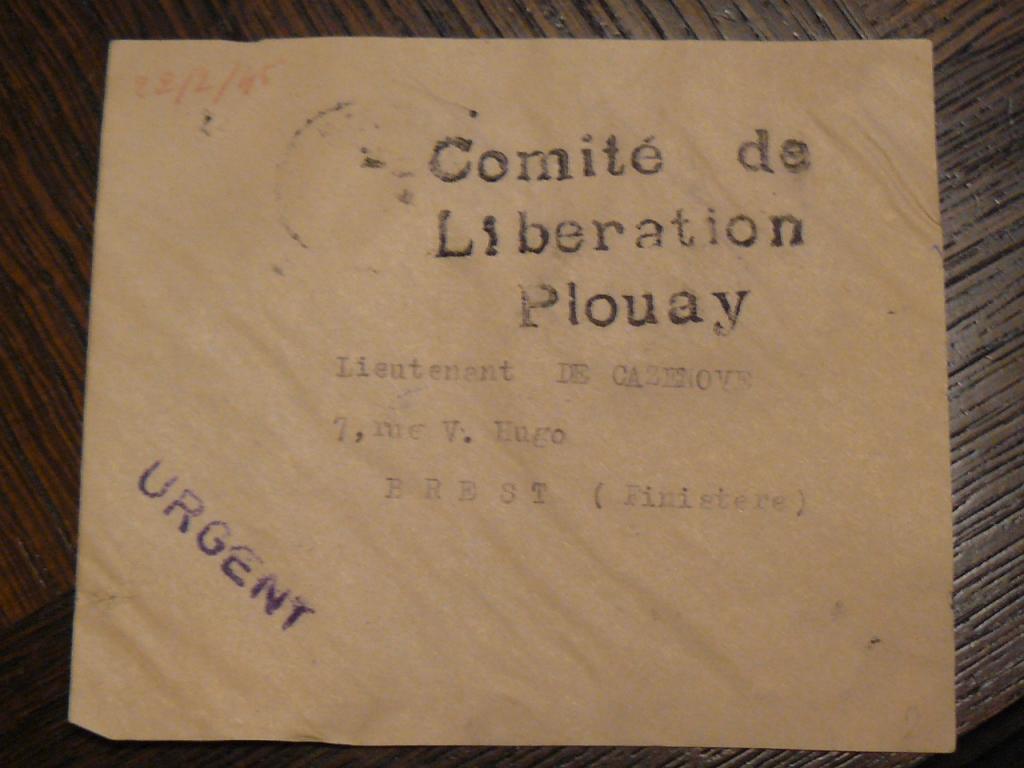 Comités de libération, dont celui de PLOUAY P1090563-43fb483