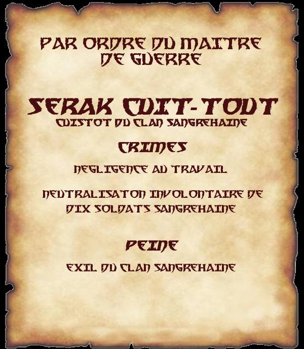 Peine de Serak Cuit-Tout Serak-peine-466442a